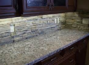 stone backsplash for kitchen stacked contemporary home design ideas