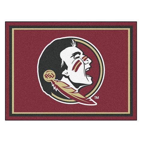 fsu rug florida state seminoles area rug 8 x 10