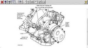 Chrysler Sebring Transmission Problems 2000 Chrysler Sebring Output Speed Sensor Transmission