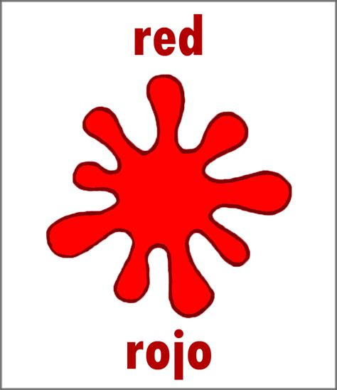 red is the color of the day children s song red colors red in spanish