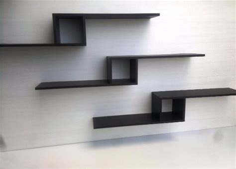 juego de repisas flotantes minimalistas modernas bs