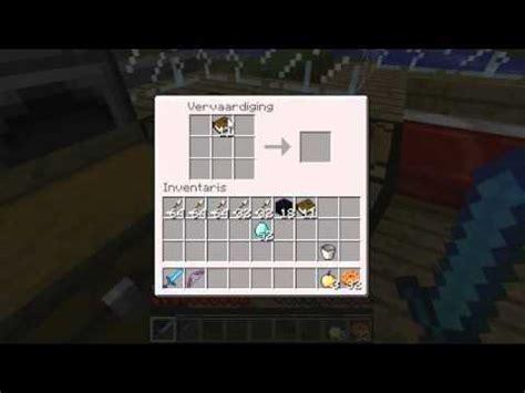 minecraft tafel hoe maak je magische tafel minecraft