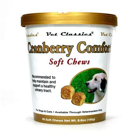 cranberry comfort vet classics cranberry comfort soft chews 65 ct the