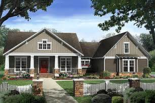 Craftman Style Home Plans Craftsman Style House Plan 4 Beds 2 5 Baths 2400 Sq Ft Plan 21 295