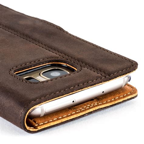 Caseme Samsung Galaxy S7 Wallet Pouch Card Vintage Leather Saru snakehive vintage nubuck leather wallet cover for