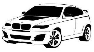 xatva manqanis how to draw a bmw x6 как нарисовать bm how to draw bmw x6