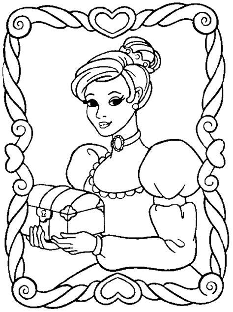 imagenes para pintar de princesas dibujos de princesas para colorear y pintar