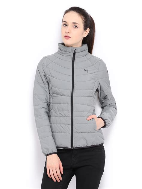 Ladies Bench Jackets Puma Grey Jacket Puma Shoes Clothes Amp Accessories