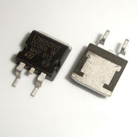 5v Regulator 7805 78m05 Smd 1 to 263 smd 7805 d2pak l7805cd2t 5v 1 5a voltage regulator ldo