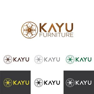 design logo kayu upmarket elegant logo design for kayu furniture by