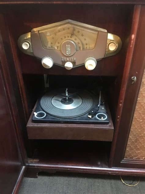 zenith record player cabinet zenith record player shop collectibles daily