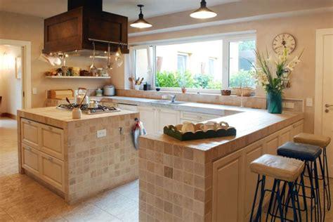 cucine di cagna in muratura foto di cucine in muratura con isola affordable idee di