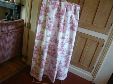 toile de jouy ready made curtains vintage door curtain toile de jouy