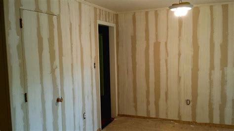 replacing wood paneling can you replace wood paneling with drywall home beautiful