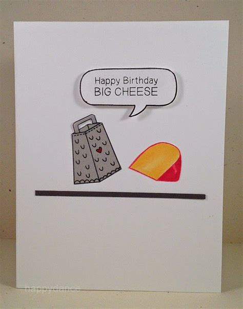 Cheesy Birthday Cards