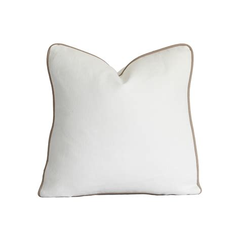 white decorative pillows decorative pillow cover white linen pillow cover