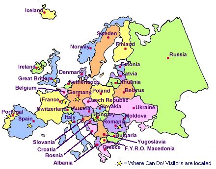 map of europe labelled maps map of europe labeled with countries