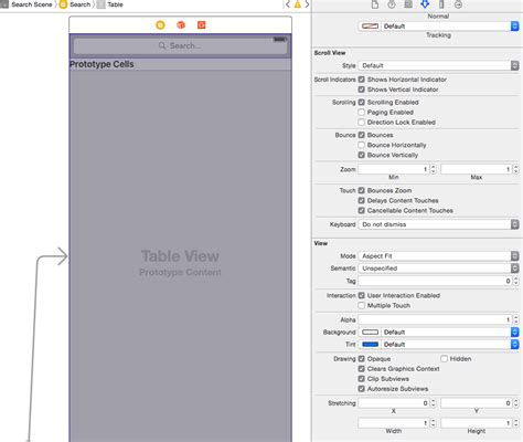 xcode sle ios ios in ios9 interface builder how can i keep my view