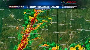 Local Weather Radar Update 8 55 Pm Indianaweatheronline