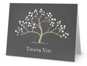 vistaprint thank you notes with tree design custom printing deals