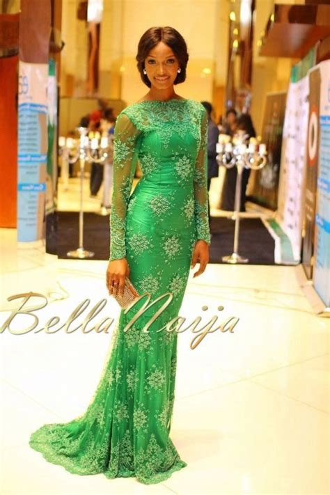 pictures of bridesmaidgown on bellanaija bn red carpet fab miss nigeria 2013 finale july 2013
