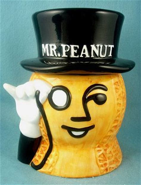 Planters Mr Peanut Collectibles by Prices Realized Mr Peanut Collectibles Jars Cookie