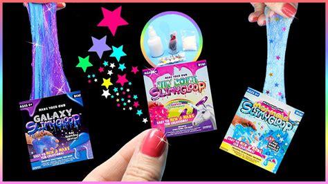 Galaxy Slime Mini Diy Miniature 5 Slime Kits Unicorn Mermaid Galaxy