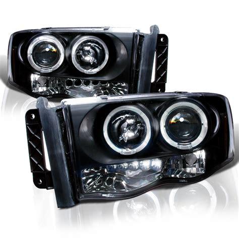 led lights for dodge ram 1500 2002 2005 dodge ram 1500 2500 angel eye halo led