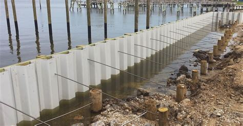 pier head construction bulkhead construction vinyl bulkheads waterfront