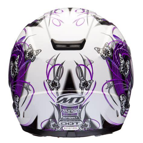 helmet design for ladies mt thunder butterfly ladies womens motorcycle motorbike