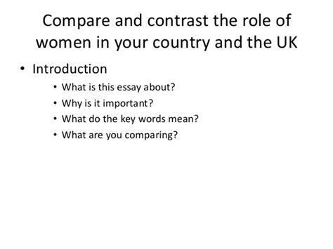 Title Ideas For Compare And Contrast Essays by Compare And Contrast Essay Titles Rootform