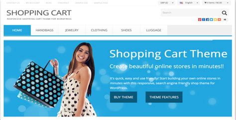 wordpress shopping cart theme v8 3 premiumpress free
