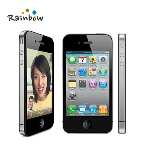 Most Reliable Phone Lookup Aliexpress Buy Original Iphone 4 Ios 16g Or 32gb Rom 3 5 Inches 5mp Wifi
