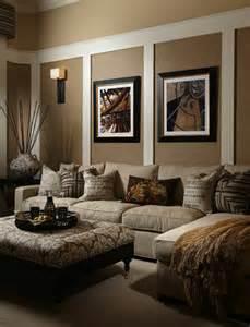wohnzimmer ideen braun wohnzimmer farbideen die verschidenen optikeffekte