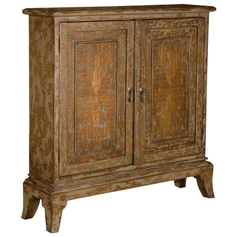 Distressed Wood Cabinet by Country 2 Door Distressed Mahogany Wood