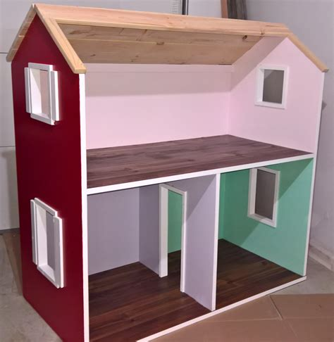 Ana White 2 Story American Girl Dollhouse Diy Projects Ag Doll House Plans