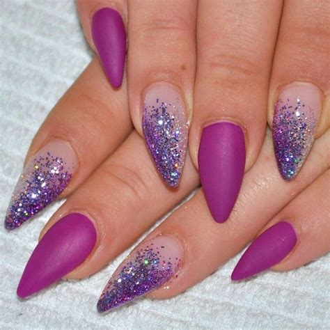 imagenes de uñas acrilicas moradas u 241 as moradas nails purple 2016 2017 dise 241 os en u 241 as