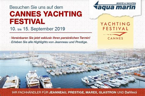 boat show europe 2019 cannes yachting festival 10 bis 15 september 2019