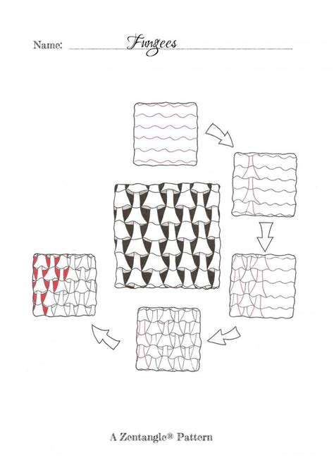 zentangle pattern fungees 91 best images about zentangle 174 pattern f on pinterest