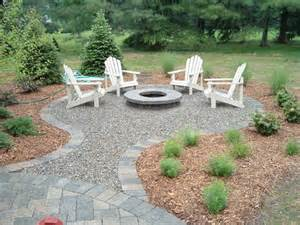 Firepit Landscaping Best 25 Pit Designs Ideas Only On