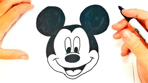 imagenes navideñas mickey mouse c 243 mo dibujar a mickey mouse paso a paso dibujo f 225 cil de