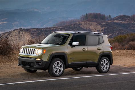 2015 Jeep Limited 2015 Jeep Renegade Build Your Own Feature Goes