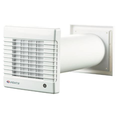 wall exhaust fans with louvers vents ma series 6 in duct 158 cfm wall through garage
