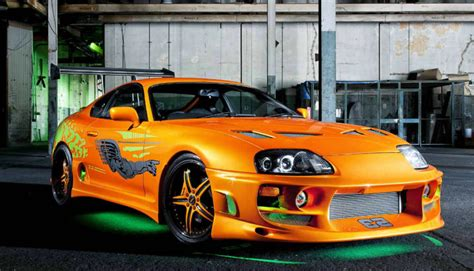 Walker Toyota Used Cars Paul Walker S Original Fast And Furious Supra Was Sold For