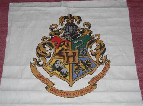 Hogwarts Acceptance Letter Cross Stitch 25 Unika Hogwarts Seal Id 233 Er P 229 Hogwarts Och Harry Potter Marathon