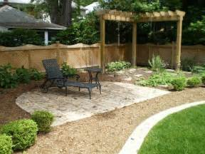 simple patio ideas for small backyards easy backyard landscape design ideas interior designs