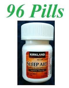 Kl sleep aid doxylamine succinate 25mg 1x96 sleeping pills free