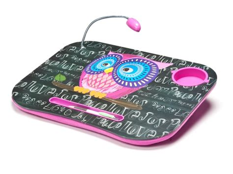 laptop desk with light lapdesk cushion w led light 7 patterns toys