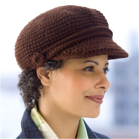 free pattern newsboy hat top 10 fashionable diy hats and caps free crocheting