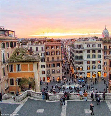 best shopping area rome the steps piazza di spagna rome christobel travel